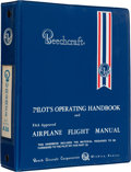Explorers:Space Exploration, Neil Armstrong's Beechcraft Bonanza Pilot's Operating Handbook and Airplane Flight Manual, Revised December, 1982 From The Arm...