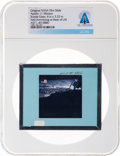 Explorers:Space Exploration, Apollo 11 Original NASA Glass Film Slide, an Image of Neil Armstrong at the Base of the LM Eagle, Directly Fro...