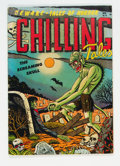 Golden Age (1938-1955):Horror, Chilling Tales #13 (Youthful Magazines, 1952) Condition: FN-....