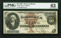 Large Size:Silver Certificates, Fr. 288 $10 1880 Silver Certificate PMG Choice Uncirculated 63.. ...
