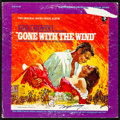 """Movie Posters:Academy Award Winners, Gone with the Wind (MGM, R-1967). Fine/Very Fine. Autographed Vinyl Record (12.5"""" X 12.5""""). Howard Terpning Artwork. Academy..."""