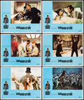 """Movie Posters:James Bond, Live and Let Die (United Artists, 1973). Very Fine. Lobby Cards (6) (11"""" X 14""""). Robert McGinnis Border Artwork. James Bond.... (Total: 6 Items)"""