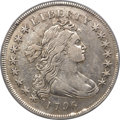 Early Dollars, 1796 $1 Small Date, Large Letters, B-4, BB-61, R.3 -- Cleaned -- ANACS. VF30 Details....