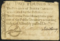 Colonial Notes:North Carolina, North Carolina December, 1771 £2 Fine.. ...