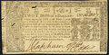 Colonial Notes:Maryland, Maryland April 10, 1774 $2/3 About New.. ...