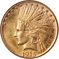 Indian Eagles, 1915 $10 MS65 NGC....
