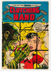 Clutching Hand #1 (ACG, 1954) Condition: VG-