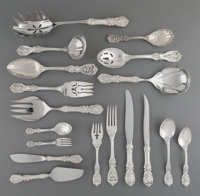 A One Hundred Six-Piece Reed & Barton Francis I Pattern Silver Partial Flatware Service for