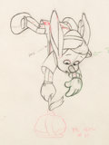 "Animation Art:Production Drawing, Pinocchio ""Donkey Ears"" Pinocchio Animation Drawing (WaltDisney, 1940)...."