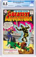 Silver Age (1956-1969):Superhero, My Greatest Adventure #80 (DC, 1963) CGC VF+ 8.5 Off-white to white pages....