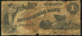 Obsoletes By State:Connecticut, Litchfield, CT - Litchfield Bank $1 Jan. 1, 1858 Very Good.. ...