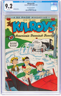 The Kilroys #22 Mile High Pedigree (ACG, 1950) CGC NM- 9.2 White pages