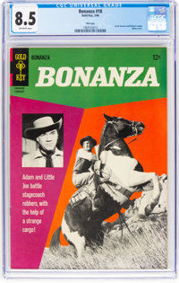 Bonanza #18 File Copy (Gold Key, 1966) CGC VF+ 8.5 Off-white pages