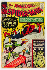 The Amazing Spider-Man #14 (Marvel, 1964) Condition: VG