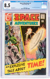 Space Adventures #2 (Charlton, 1968) CGC VF+ 8.5 White pages