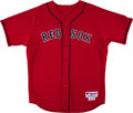 Baseball Collectibles:Uniforms, 2007 Kevin Youkilis Game Worn Boston Red Sox Jersey MLB Authentic. ...