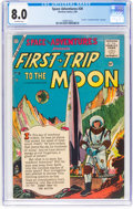 Golden Age (1938-1955):Science Fiction, Space Adventures #20 (Charlton, 1956) CGC VF 8.0 Off-white pages....