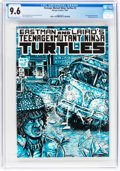 Modern Age (1980-Present):Alternative/Underground, Teenage Mutant Ninja Turtles #3 (Mirage Studios, 1985) CGC NM+ 9.6Off-white to white pages....