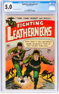 Golden Age (1938-1955):War, Fighting Leathernecks #2 (Toby Publishing, 1952) CGC VG/FN 5.0 White pages....