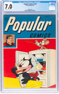 Golden Age (1938-1955):Humor, Popular Comics #138 (Dell, 1947) CGC FN/VF 7.0 Off-white to white pages....