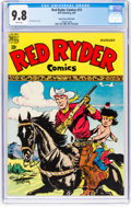 Golden Age (1938-1955):Western, Red Ryder Comics #73 Mile High Pedigree (Dell, 1949) CGC NM/MT 9.8 White pages....