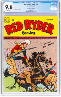 Red Ryder Comics #78 Mile High Pedigree (Dell, 1950) CGC NM+ 9.6 White pages