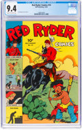 Golden Age (1938-1955):Western, Red Ryder Comics #14 (Dell, 1943) CGC NM 9.4 Cream to off-white pages....
