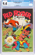 Golden Age (1938-1955):Western, Red Ryder Comics #36 (Dell, 1946) CGC NM 9.4 Cream to off-white pages....