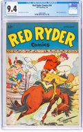 Golden Age (1938-1955):Western, Red Ryder Comics #54 (Dell, 1948) CGC NM 9.4 Cream to off-white pages....