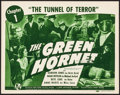 "The Green Hornet (Universal, 1940). Very Fine. Title Lobby Card (11"" X 14"") Chapter 1 -- ""The Tunnel of T..."