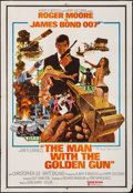 "Movie Posters:James Bond, The Man with the Golden Gun (United Artists, 1974). Folded, Fine+. Autographed Indian Poster (27.5"" X 40""). Robert McGinnis ..."