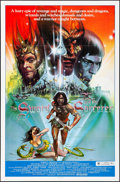 """Movie Posters:Fantasy, The Sword and the Sorcerer & Other Lot (Group 1, 1982). Folded, Very Fine-. One Sheet (27"""" X 41"""") & International One Sheet ... (Total: 2 Items)"""