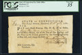 Colonial Notes:Connecticut, Hartford, CT Pay Table Office £4 Oct. 9, 1781 PCGS Very Fine 35.. ...