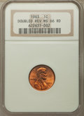 1983 1C Doubled Die Reverse MS66 Red NGC. NGC Census: (285/129). PCGS Population: (426/64). CDN: $315 Whsle. Bid for pro...