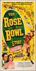 """Movie Posters:Sports, The Rose Bowl Story (Monogram, 1952). Folded, Very Fine-. Three Sheet (41"""" X 78.75""""). Sports.. ..."""