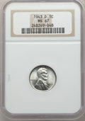 Lincoln Cents: , 1943-D 1C MS67 NGC. NGC Census: (3337/59). PCGS Population: (2414/146). CDN: $140 Whsle. Bid for problem-free NGC/PCGS MS67...
