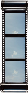 Explorers:Space Exploration, Saturn 5 Rocket Liftoff 70mm Color Film Roll From The Armstrong Family Collection™, CAG Certified....