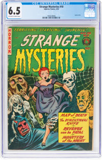 Strange Mysteries #10 (Superior Comics, 1953) CGC FN+ 6.5 Off-white to white pages