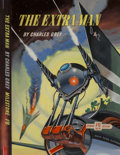 Original Comic Art:Illustrations, Ron Turner (British, 20th Century). The Extra Man paperback cover, 1954. Acrylic on board. 17.25 x 12.75 in.. Not signed...