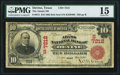 National Bank Notes:Texas, Devine, TX - $10 1902 Red Seal Fr. 613 The Adams NB Ch. # (S)7212 PMG Choice Fine 15.. ...