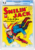 Golden Age (1938-1955):Adventure, Large Feature Comic (Series I) #14 Smilin' Jack - Mile High Pedigree (Dell, 1941) CGC NM- 9.2 White pages....