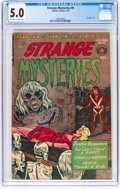 Golden Age (1938-1955):Horror, Strange Mysteries #9 (Superior Comics, 1953) CGC VG/FN 5.0 Off-white to white pages....