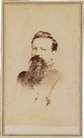 Military & Patriotic:Civil War, Confederate General Harry Hays Carte de Visite Signed...