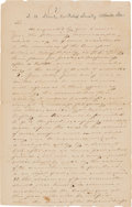 Military & Patriotic:Civil War, Samuel H. Stout Draft of Regulations for the Relief Society in Atlanta....