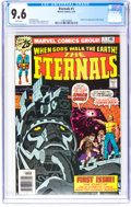 Bronze Age (1970-1979):Superhero, The Eternals #1 (Marvel, 1976) CGC NM+ 9.6 White pages.