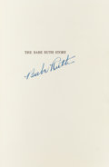 "Autographs:Others, 1948 Babe Ruth Signed First Edition of ""The Babe Ruth Story"", PSA/DNA Mint 9...."