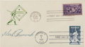 Autographs:Others, 1939 Herb Pennock Signed Baseball Centennial First Day Cover....
