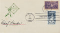 Autographs:Others, 1939 Chief Bender Signed Baseball Centennial Cover, PSA/DNA Mint9....