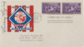 Autographs:Others, 1939 Nap Lajoie Signed Baseball Centennial First Day Cover, PSA/DNA NM-MT 8....