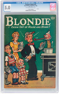 Feature Books #47 Blondie (David McKay Publications, 1946) CGC VG/FN 5.0 Off-white to white pages